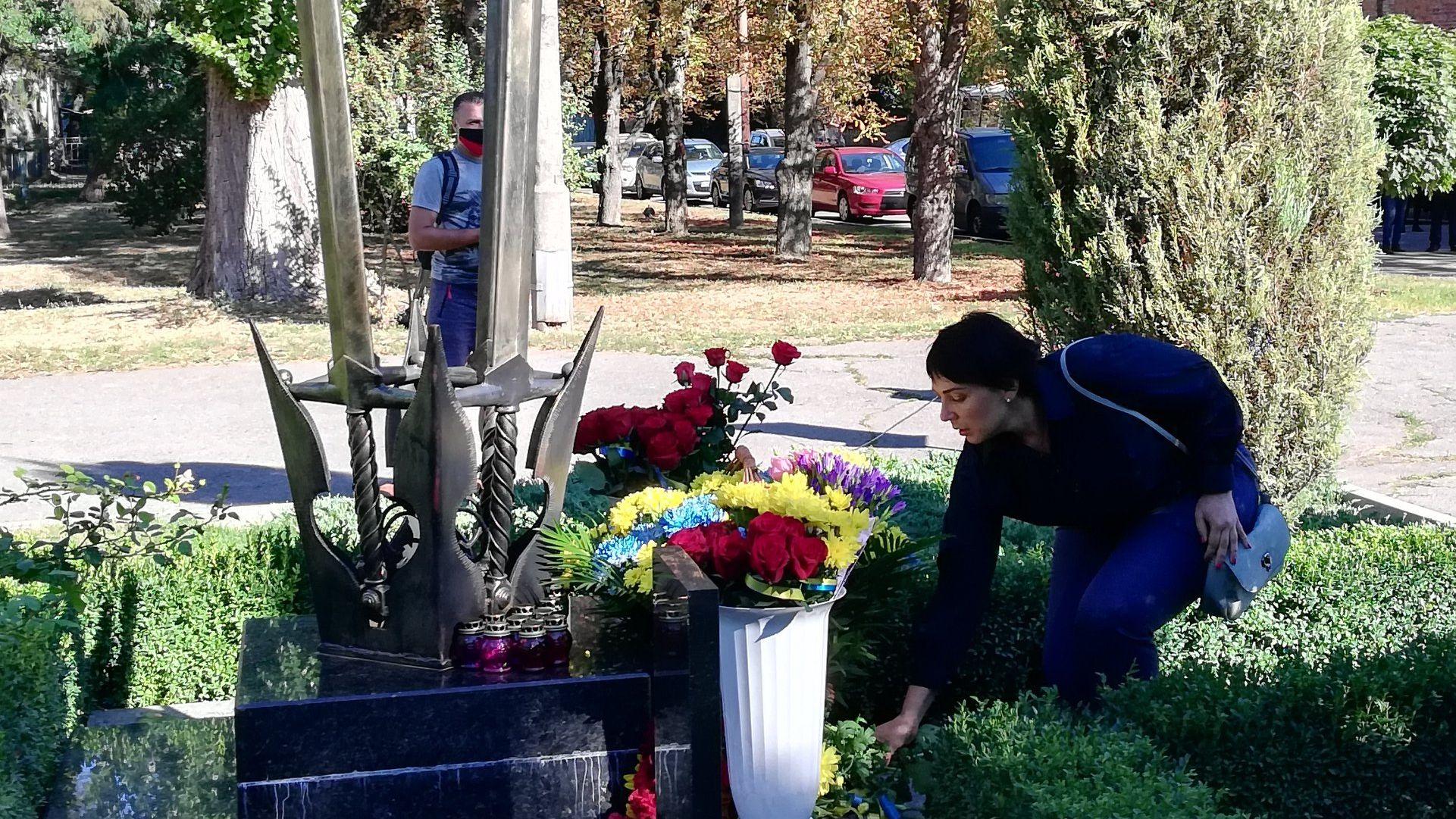 Кременчуці вшанували подвиг захисників України